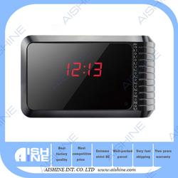 H.264 5MP Pixels Motion Detect Hidden Home Security Surveillance P2P Network Table Clock Alarm Camera