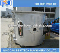 3t steel electric smelter/ steel induction smelter/ steel foundry smelter