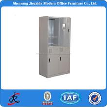 2015 hight quality steel storage cabinet wardrobe cloth waterproof 4 door metal cabinet