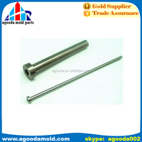dongguan factory High precision ejector sleeve, ejector bush pin, plastic ejector mold pin