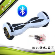 2015 Top-sales 8inch Electric Balance Bluetooth hoover board 2 wheels electric scooter price china