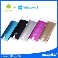 Lowest price high quality mini pc Win8 M2 dongle android4.4 tv dongle