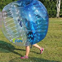 Fashionable sports entertainment football/ inflatable body zorb ball/inflatable zorb ball suit