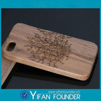 2014 Environmental Tree laser Wood Mobile Phone Case Cover Shell for iphone 5 5s