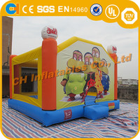 Dinosaur inflatable bouncy castle/inflatable bouncer/china inflatable bouncer