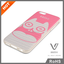 For iPhone 6 Case 3D Cute Cat Design TPU Cover Case for iPhone 6