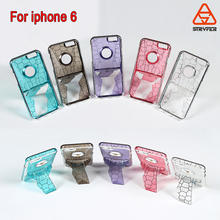 Waterproof bag for iphone 6S Unique device phone case ,electroplating PC cell phone case for iphone 6S cover