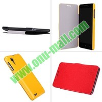 Nillkin Litchi Texture Flip Leather Case For Lenovo P780 with Smart Sleep Wake Function