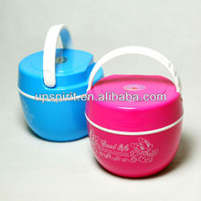 600ml stainless steel thermal lunch boxes color bento box with handle dividers food storage container
