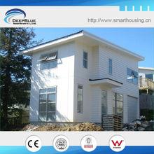 estructura de la casa de acero ligero