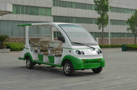 11 seats electric mini bus, CE certificate, made in china