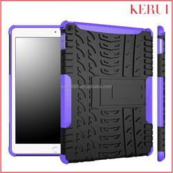 2015 New high end wholesale 3 in 1 kickstand armor custom tablet cover for apple ipad air 2
