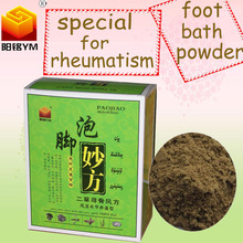 Hot selling product specialized in curing Rheumatism pain foot bath Powder