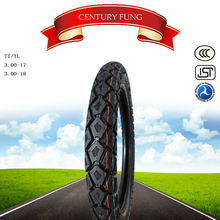 best chinese brand century fung motorcycle tyre 3.00-17 motorcycle tyre tubless tyre