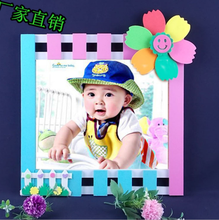 Beauty baby 12 month wood love photo frame/beautiful picture photo frames for kids