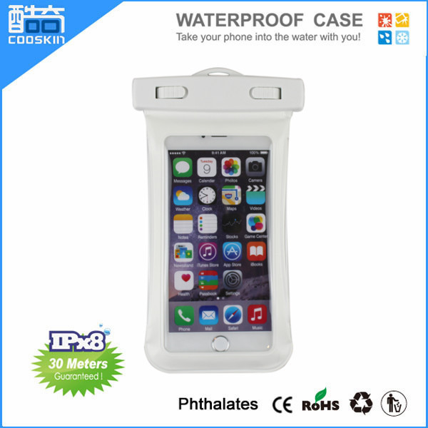2015 hot selling PVC IPX8 waterproof bag