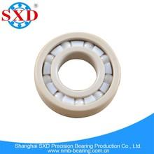 High hardness plastic ball bearing PEEK material, high quality PEEK plastic ball bearing, ABEC 1-9 grade, rock bottom price