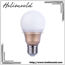 Super bright energy saving luxury gold color A60 E27 9w led light bulb