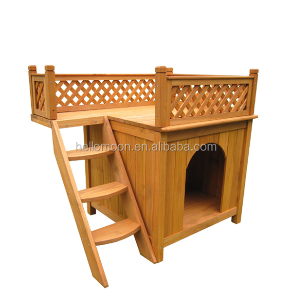 Factory Best Selling Top Quality Wooden Dog Kennel