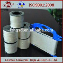 de color blanco puro 8 línea de cuerda de nylon trenzado