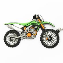 PVC motorcycle keyring key chain