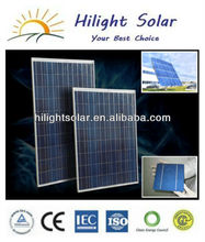 high efficient 250w high watt power solar panel with tuv,CE,ISO,CEC