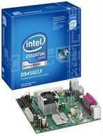 Intel orginal atom mini-itx board D945GCLF with single core CPU, desktop,Thin Client