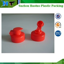 Red and good quality plastic cap manufacturer from China 28 400