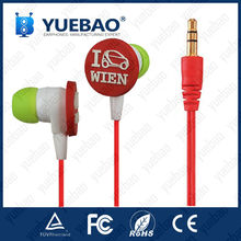in ear silicone rubber earbuds