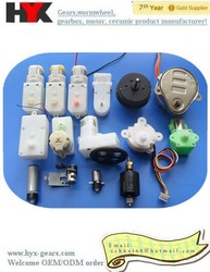 GuangDong rc series dc motor with plastic gearbox manufacturer