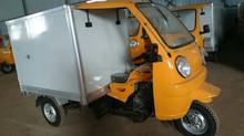 Africa popular KD-T002 tuk tuk van cargo tricycle /bajaj