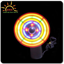China party favor LED music mini fan with customized logo for promotion