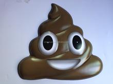 big custom plastic face mask pvc emoji mask