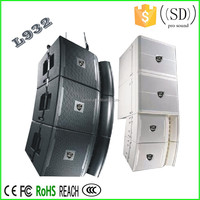Dj sound system outdoor powered speaker box line array system