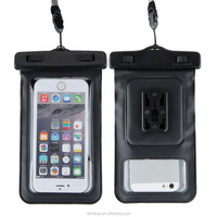 Mobile Phone Bicycle Holder Case IPX8 Waterproof Cover Pouch Case for Alcatel for Huawei for iPhone 6S