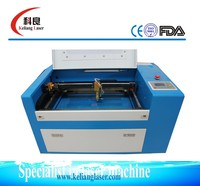 300*500mm laser wood cutting machine with best price and Ruida control KL-350