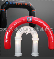 Free Shipping 8m x4m Inflatable Sports Arch Event Entrance, Finish Line for Sports Events Different colors,Different Shape