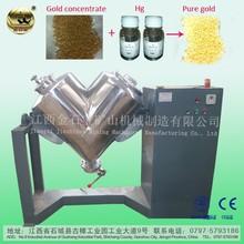 V-Shape Type Gold Refining Amalgamation Equipment For Sale