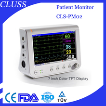 Best Sell portable patient monitor CLS-PM02 multi parameter patient monitor device