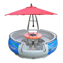 Professional bbq donut boat for sightseeing with cheap price