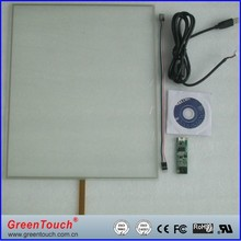 19 Inch 4 Wire Resistive Touch Screen Panel
