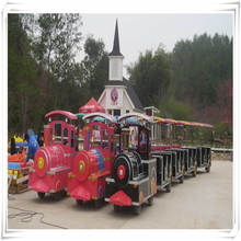 Funny small amusement park rides kids mini electric ride on train ho with tracks