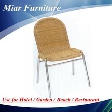 Cheap Aluminum Wicker Dining Chair 101001
