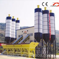 Ready mixed concrete cement batching plant layout
