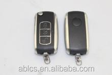 2014 ABLCS Self-development flip car key for Bentley modified key replacement
