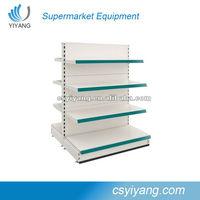 Metal display shelf /retail store merchandise display rack and shelf