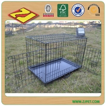 cheap large stainless steel lock iron dog cage