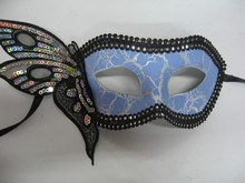 hot sell sex party mask with butterfly decoration unique crystal free printable face masks