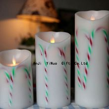 gift paraffin wax led candle light