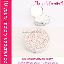 hot selling bling metal pill box with key chain